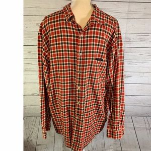 Polo Jeans Company Flannel Button Up Plaid Shirt